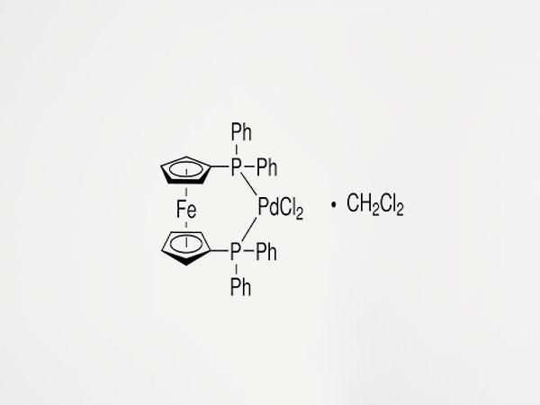 113.[1'1-双(二苯基膦)二茂铁]二氯化钯二氯甲烷络合物